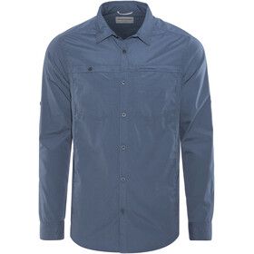Craghoppers Kiwi Trek Longsleeve Shirt Men blue